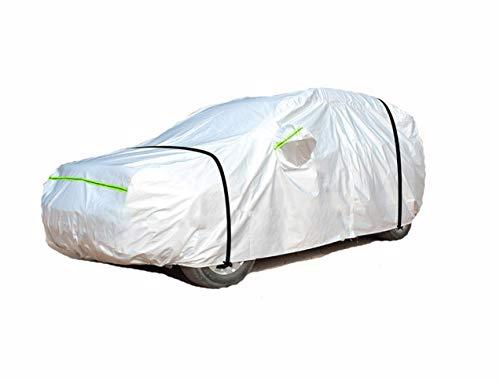 Compatible avec Toyota Corolla Car Cover Sunscreen Protection Contre la Pluie 2017 1.2t Spécial Couverture de Voiture Parasol (Color : Silver, Size : Corolla)