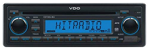 VDO CD726U-BU 24 Volt - CD/MP3-Autoradio mit USB / AUX-IN