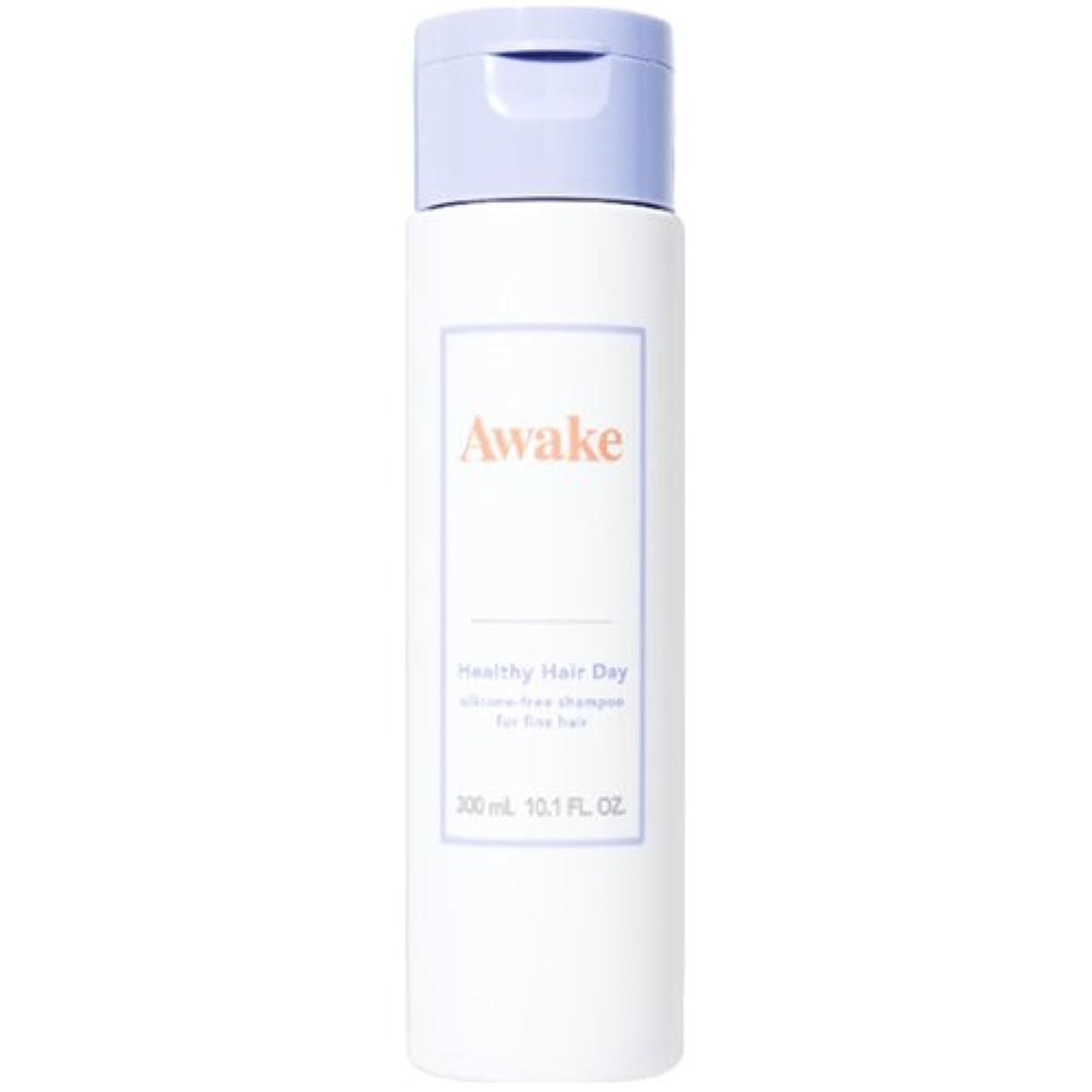 ナイトスポット嫌な欺くアウェイク(AWAKE) Awake(アウェイク) ヘルシーヘアデイ シリコーンフリー ヘアシャンプー ハリコシアップヘア用 (300mL)