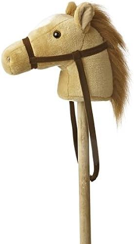 Aurora World World Giddy-Up Stick Horse 37  Plush, Beige