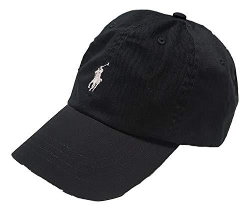 RALPH LAUREN CAP CLASSIC, BLACK, Baseball Cap ohne size
