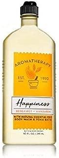 Bath and Body Works Aromatherapy Happiness Bergamot and Mandarin Body Wash and Foam Bath 10 ounces