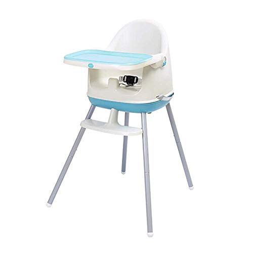 Multi-functionele draagbare milieuvriendelijke kinderzitje eetstoel, anti-dumping verstelbare dubbele plaat babystoel, één stoel drie gebruik