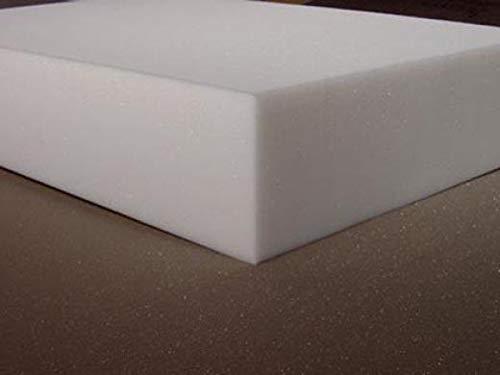 Schaumstoffzuschnitt PU RG 35/40 weiß 50x50 cm 4 cm