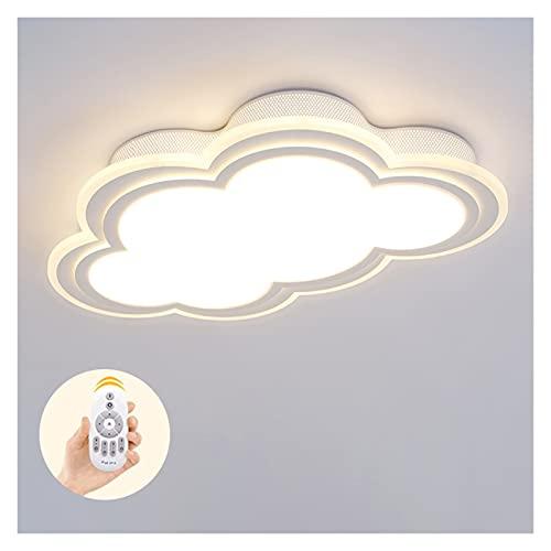 Accesorio de iluminación Luz de techo LED LED Cloud Cloud Lámpara de techo Nueva lámpara de dormitorio Lámpara de techo Lámpara de techo Boy Chica Lámpara Dormitorio Simple Dibujos Animados Amarillo P