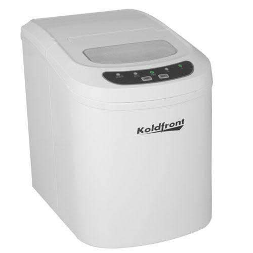 Koldfront KIM202W Ultra Compact Portable Ice Maker - White