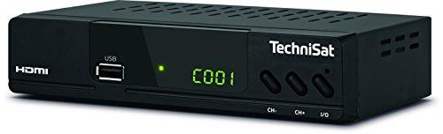 TechniSat HD-C 232 - HDTV-Receiver für digitales Kabelfernsehen - Mit HDMI, SCART und USB 2.0 & Amazon Basics HL-007306 Hochgeschwindigkeits-HDMI-Kabel 2.0, Ethernet, 3D, 4K-Videowiedergabe und ARC