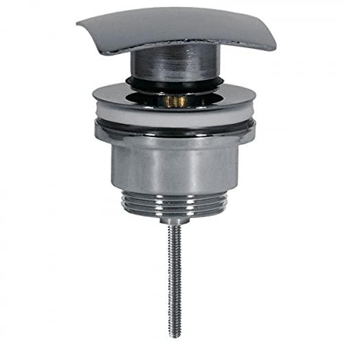 Tres Griferia - Válvula Lavabo Simple‑Rapid Tapón Cuadrado 68X68Mm Click‑Clack (13434010)