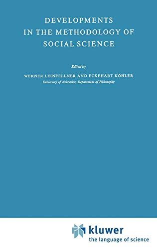 library science collection developments Developments in the Methodology of Social Science (Theory and Decision Library, 6)