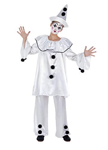 Banyant Toys Disfraz Payasa Pierrot Mujer: S
