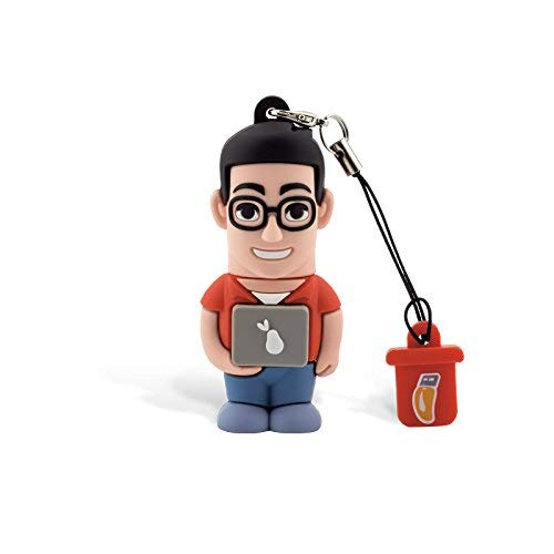 Professional USB Informático Hombre, simpatiche Memorias USB Flash Drive 2.0Memory Stick Almacenamiento de Datos, llavero, Pendrive 8GB