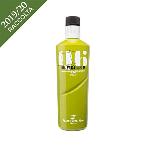 Olio extravergine di oliva 46° Parallelo - Agraria Riva Del Garda - Trentino Alto Adige - Bottiglia di vetro - ML - Casaliva, Frantoio, Leccino -
