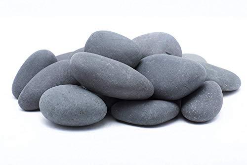LF Inc. 50 Lb. Premium Large Mexican Beach Pebbles 3-5 inches, Decor, Garden, Landscape