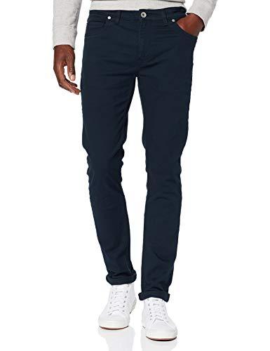 Farah Vintage Drake 5 Pocket Pantalones, Azul (True Navy 412), W32/L34 (Talla del Fabricante: 32/34) para Hombre