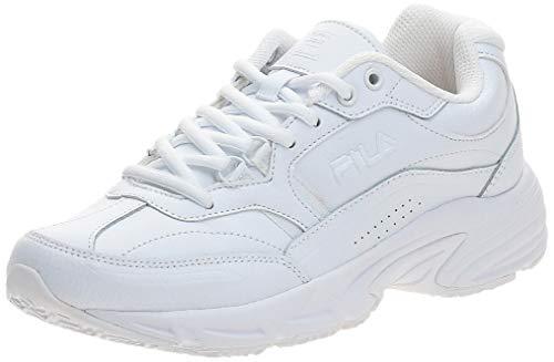 Fila Women's Memory Workshift Cross-Training Shoe,White/White/White,7.5 M US