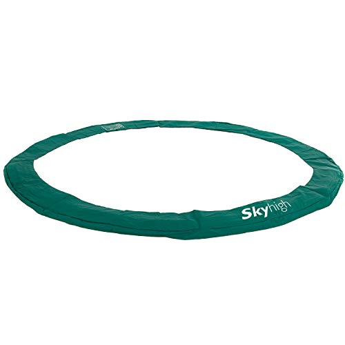 Skyhigh Replacement Trampoline Surround Pad Spring Cover Padding Safety Guard Safe Durable Wide and Thick(Round, 8ft)