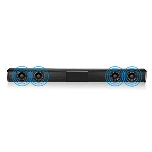 Barra de Sonido para PC Bar SONID Bar 2000MAH Altavoz De Audio con Soporte De Subwoofer Incorporado...