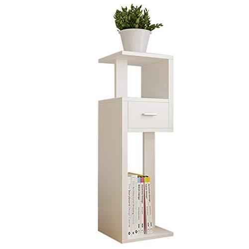 WGZ Bloemstandaard van massief hout, bodemrek, groene sprei, bloempot, bloempot, platform, eenvoudig platform