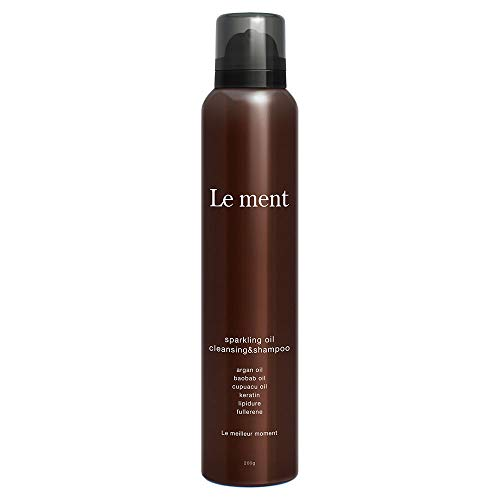 Le ment -sparkling oil cleansing & shampoo - ルメント 炭酸シャンプー