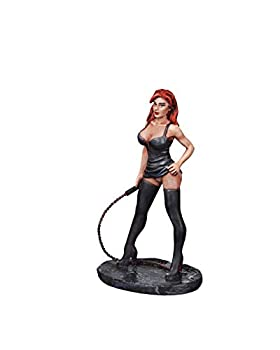 Ronin Miniatures - Girl Pose Bent - Hand Painted Sculpture - Size 1/32 Scale - 54mm Action Figures - Home Collectible Figurines