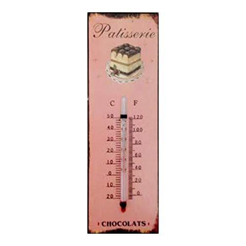 La Plakette reclame thermometer metaal – om te bakken – chocolade