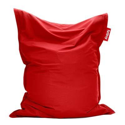Fatboy® Original Outdoor Sitzsack Red | Klassische Beanbag für draußen, Sitzkissen in Rot | 180 x 140 cm