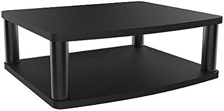 Tripp Lite Adjustable Monitor Stand Display Riser Swivel w/ Storage Shelf, Raises 6 inches (MR1815SWVL)