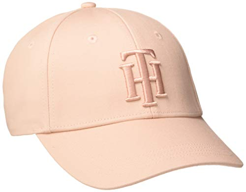 Tommy Hilfiger Damen Th Chic Baseball Cap, Pink (Pale Pink Tip), One Size (Herstellergröße: OS)