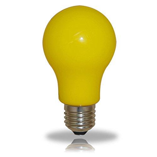 LED Leuchtmittel Birnenform 3W = 25W E27 GELB Innen- & Außenbereich Party