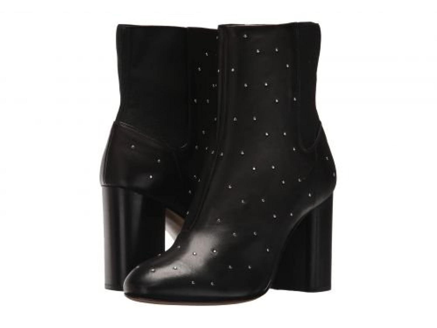 ホールバーチャル揃えるrag & bone(ラグアンドボーン) レディース 女性用 シューズ 靴 ブーツ アンクルブーツ ショート Agnes Boot - Black Studded [並行輸入品]