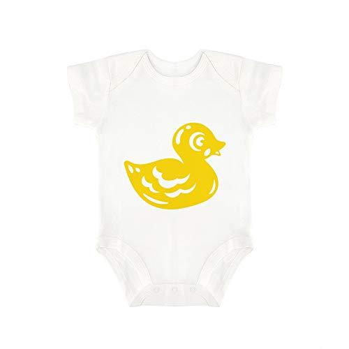 Promini - Mono de Goma para bebé, diseño de Pato de bebé, de una Pieza, bebé