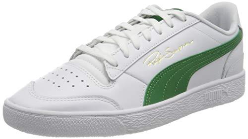 PUMA Ralph Sampson Lo, Zapatillas Unisex Adulto, Blanco White/Amazon Green, 38 EU