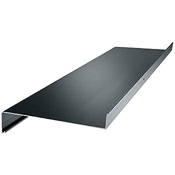 Set Aluminium Endkappen f/ür Putz bis 2m Zuschnitt auf Ma/ß inkl Alu Fensterbank anthrazit 1300 mm, anthrazit Auslage 300 mm