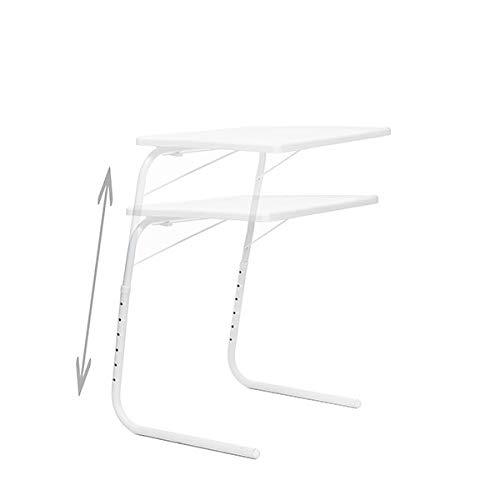 Oramics 'Ligero y Estable Mesa Foldy Table–Ajustable y Plegable