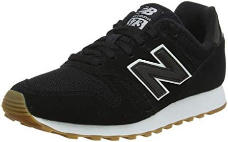 New Balance 373, Baskets Femme, Noir (Black/White BTW), 42.5 ...