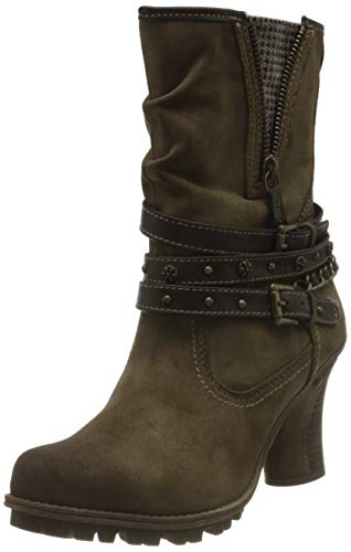 Mustang Damen 1141-506 Mode-Stiefel, kaffee, 40 EU
