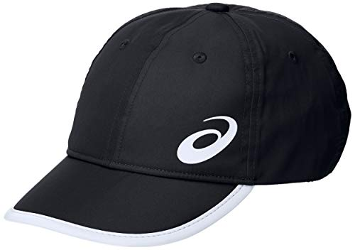 ASICS Performance Cap Visera, Negro (Black...