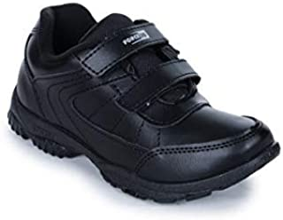Force 10 (from Liberty) Unisex Black School Shoes -7 UK/India (41 EU) (8151027100410)