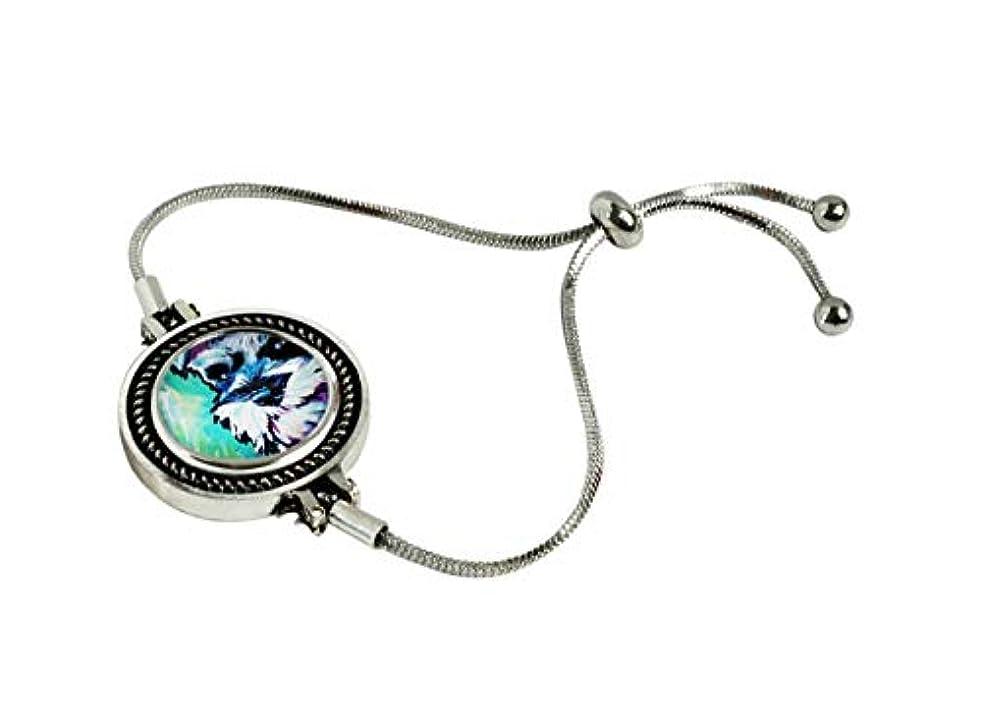 XuSuJuan Miniature Schnauzer Pop Art Print Photo Custom Snap Bracelet Charms