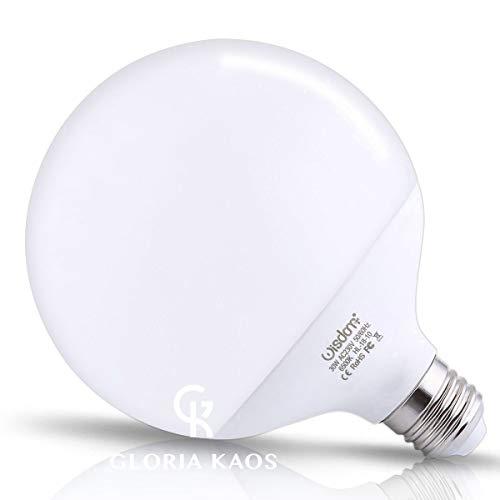 Wisdom Powered By G.Kaos - Lampada LED Globe 30W = 270 WATT E27 2700 LUMEN Lampadina Non Dimmerabile Luce Bianco Freddo 6500K