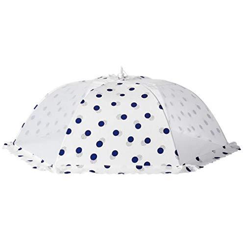 HYHY - Paraguas de malla para alimentos, diseño de dibujos animados, reutilizable, plegable, para cocina, cena, tienda de campaña, 55 cm