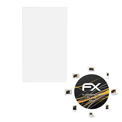 atFoliX Panzerfolie kompatibel mit Catuo 7021G Schutzfolie, entspiegelnde und stoßdämpfende FX Folie (3X)