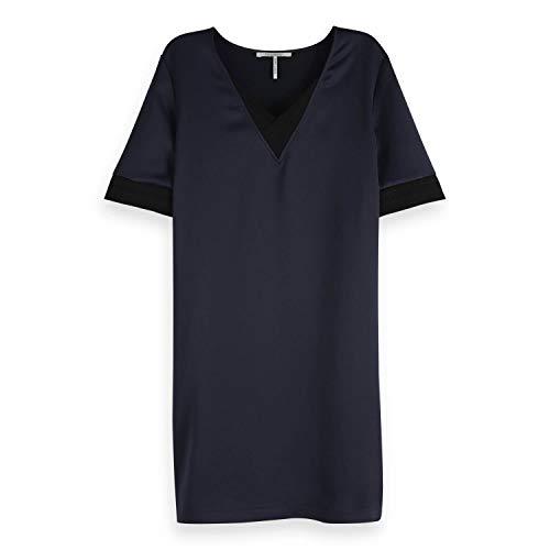 Preisvergleich Produktbild Maison Scotch Damen Kleid V-Neck Dress 149855 Night M