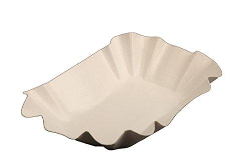 Semy Pappschale, rechteckig, 9x14x3cm, beschichtet, 1er Pack (1 x 250 Stück)