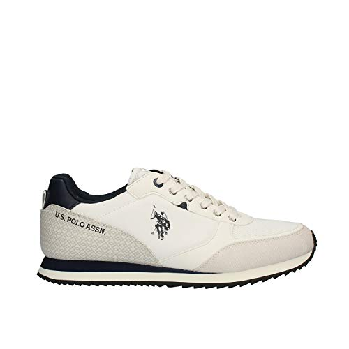 U.S Polo ASSN Bryson 4123 Weiß Blau Sneaker Herren Schuhe