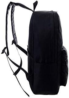 حقيبة ظهر وكتف قماشية مدرسية نيت جلوينج مونستير ايز بطباعة عيون وحش تتوهج في الظلام مناسبة للسفر وحمل الكتب والتنزه