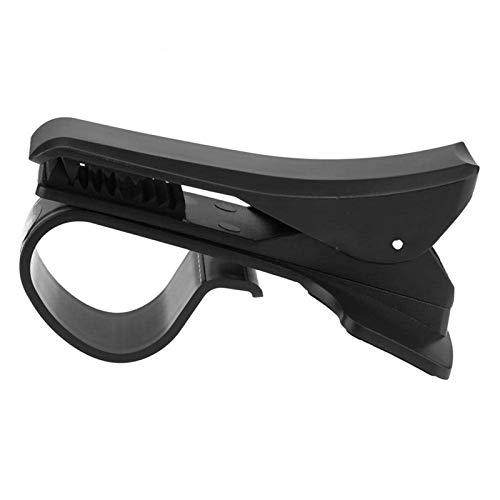 Soporte del Teléfono, Tablero De Instrumentos del Coche Soporte Giratorio del Tenedor del Soporte del Teléfono Móvil De 360 Grados con El Clip Negro