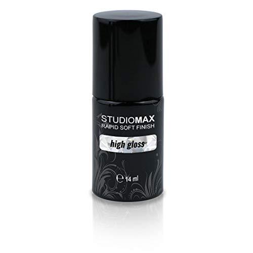 STUDIOMAX Rapid Soft Finish UV Quick Finish sans couche de sudation.
