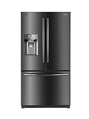 Daewoo RFS-26SUJE French Door Refrigerator, Black Stainless Steel, includes delivery and hookup