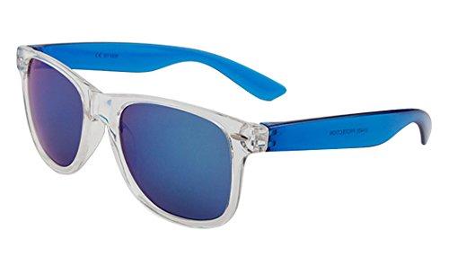 Fansport zonnebril voor vrouwen, doorzichtig frame, outdoor-zonnebril, vintage-zonnebrillen, pilot eyewear pilot zonnebril Multicolor 2